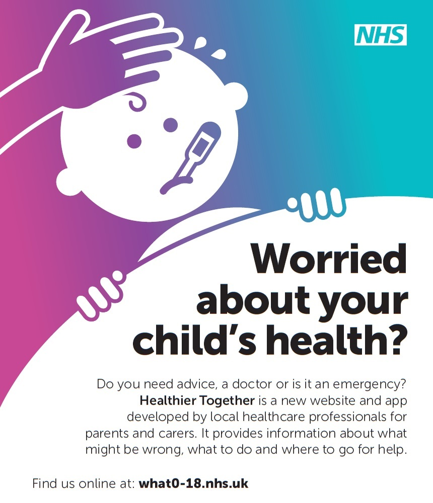 worried about your childs health?