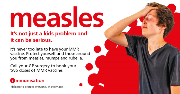 Measles campaign
